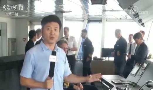 """开船啦!我国首艘国产极地探险""""1号邮轮""""正式交付"""
