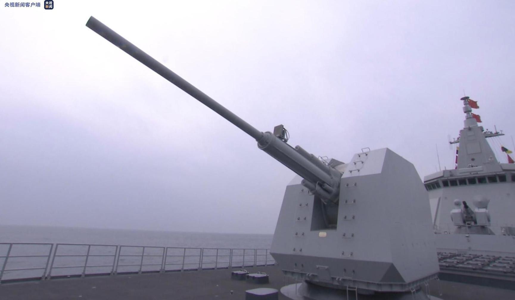 首艘万吨级!南昌舰入列 有何看家本领?