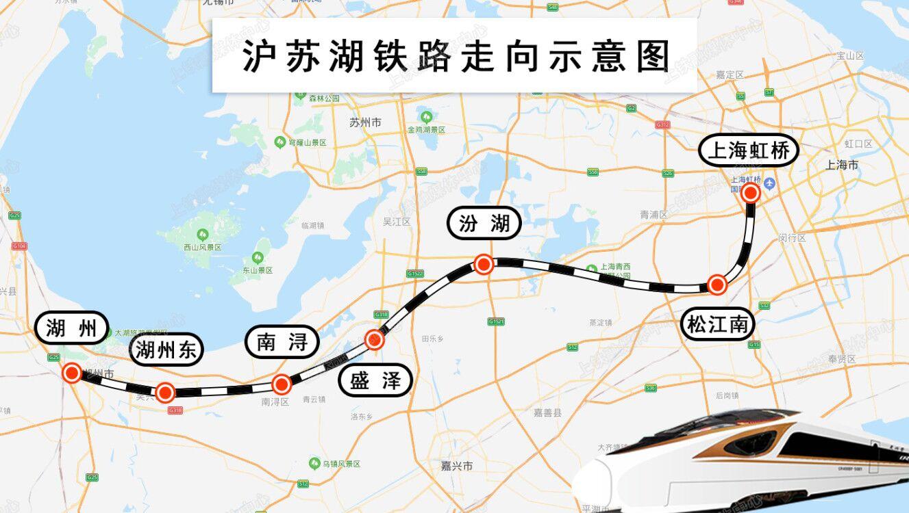 """沪苏湖铁路从""""规划图""""转换成"""""""