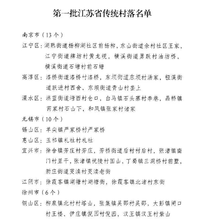 """事关乡愁!解码江苏107个""""省级""""传统村落的DNA"""